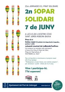 sopar solidari cartell_amb actuació